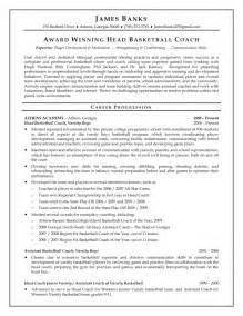 Coaches Resume by Page 12 Best Exle Resumes 2017 Uxhandy