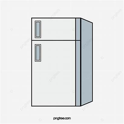 Refrigerador Cartoon Nevera Imagen Refrigerator Pngtree Plan