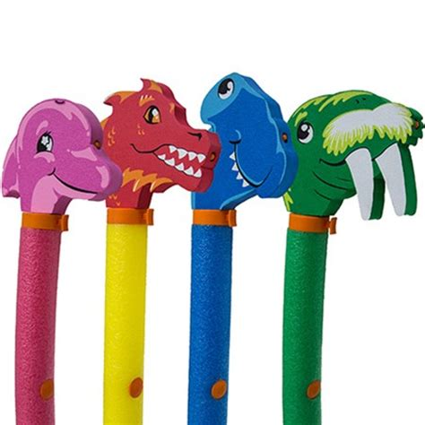 aqua rider squirter pool noodles by swimways two pack