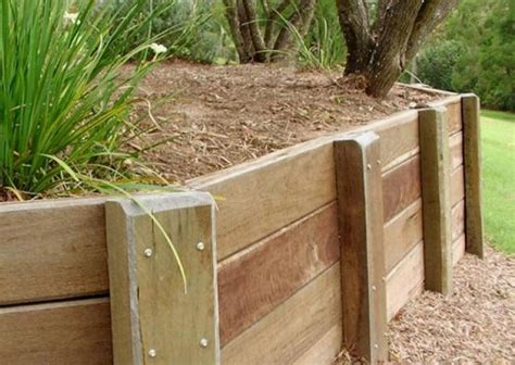 retaining walls landscaping wood solutions
