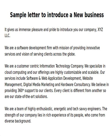 sample  business letters  examples  word