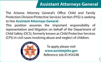 assistant attorneys general  arizona attorney office