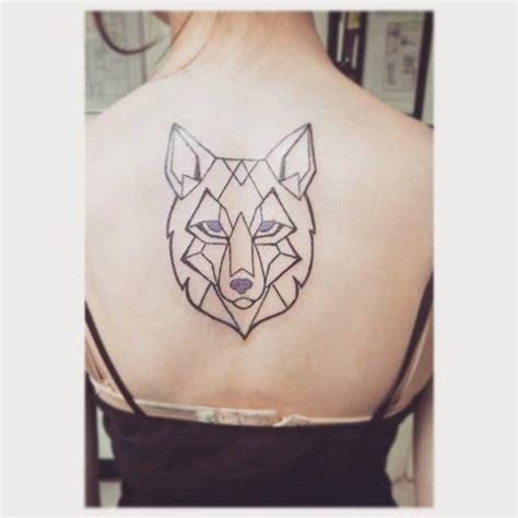 Images Of Geometric Wolf Tattoo Golfclub