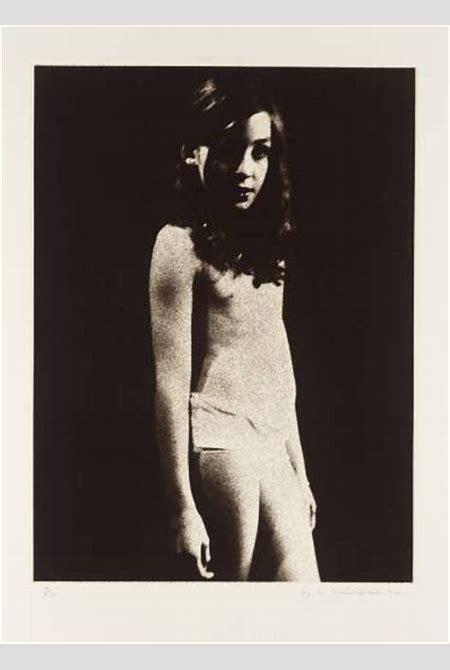 Graham Ovenden - Five Girls, Wendy, 1970, Intaglio...