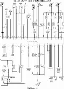 I Need A Engine Control Wiring Schematic For 1989 Corvette