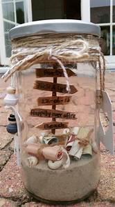 Lustige Hochzeitsgeschenke Geld : hochzeitsgeschenk geld im glas geschenk schenken verschenken hochzeit geld sand strand ~ Yasmunasinghe.com Haus und Dekorationen