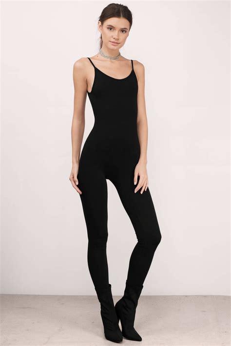 and black jumpsuit trendy black jumpsuit knitted jumpsuit 40 00