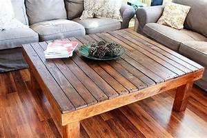 dark walnut rustic reclaimed wood large square coffee With large square reclaimed wood coffee table