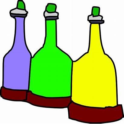 Cartoon Bottles Clipart Bottle Medicine Cliparts Clip