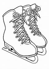 Coloring Skating Pages Ice Popular sketch template
