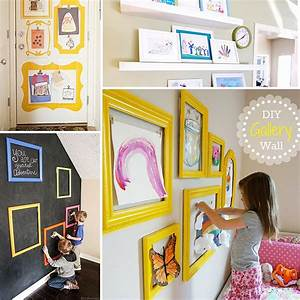 Display your children s artwork with these easy diy home