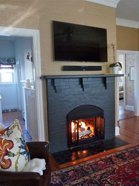 Black Fireplace - 1000 ideas about black fireplace on fireplace