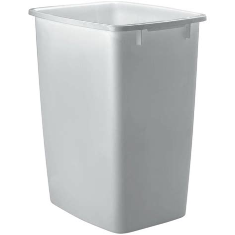 rubbermaid wastebasket  gal white walmartcom