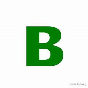 images of the letter b | Printable ABC letter templates in ...