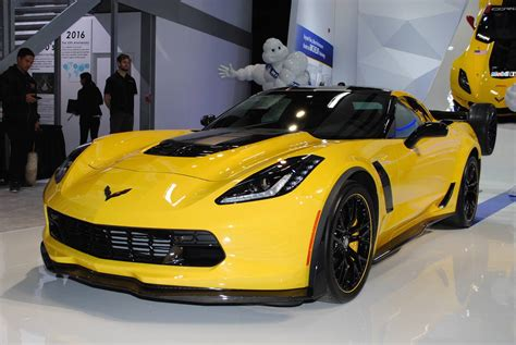Detroit 2016 Chevrolet Corvette Z06 C7r Edition Gtspirit
