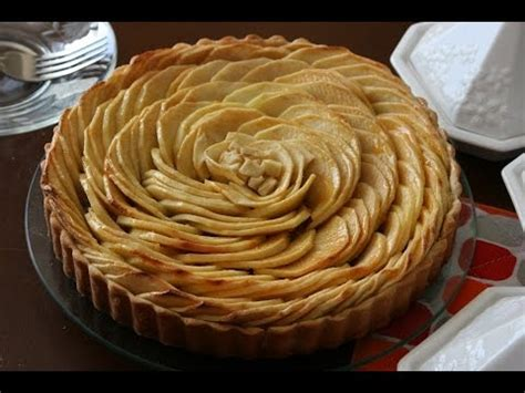 tarte aux pommes francaise delicious french apple tart