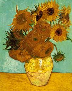Vincent Van Gogh - Twelve Sunflowers