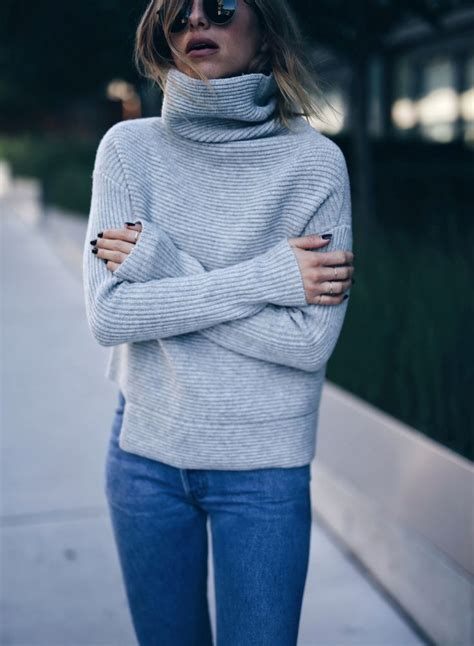 sweaters to wear with best 25 grey turtleneck ideas on winter chic