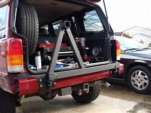 Detours Rear Tire Carrier