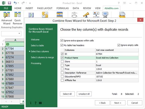 how to combine two rows into one in excel 2010 merge two columns into one list in excel get