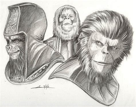 Sketch Please » Planet Of The Apes » John