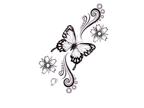 butterfly tattoo sketches tukang kritik