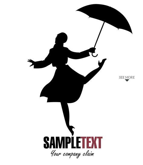 girl dancing   rain  illustrations creative market