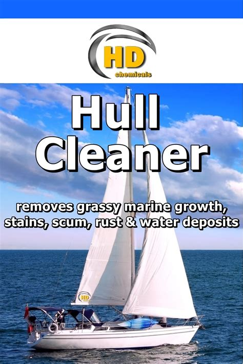 Boat Cleaner Stain Remover by 500ml Hull Cleaner Stain Remover Boat Yacht Clean