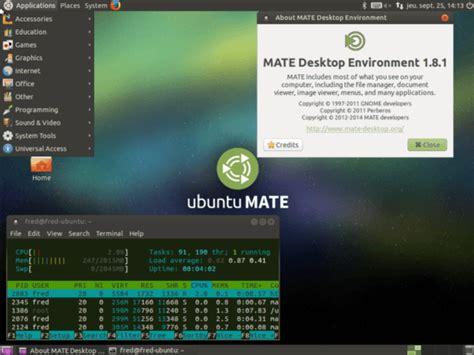 ubuntu bureau virtuel ubuntu installer le bureau mate memo linux com