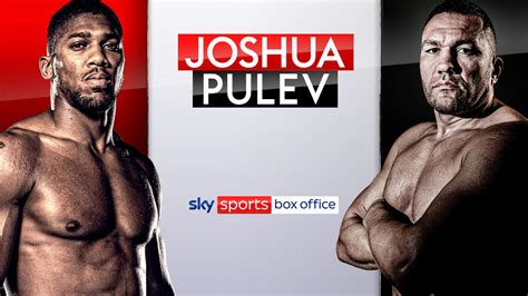 Joshua vs Pulev: Timing, pricing and booking details for ...