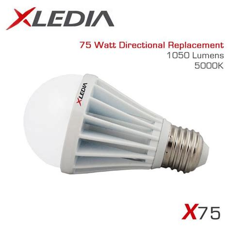 xledia x75n 75 watt equal a19 led for fully enclosed