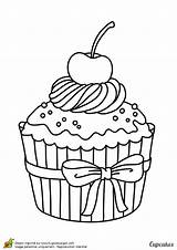 Ice Cupcakes Cream Cupcake Coloring Pages Clipart Printable Colouring Drawing Colorier Hugolescargot Desenhos Adult Cakes Colorir Drawings Para Pintar Un sketch template
