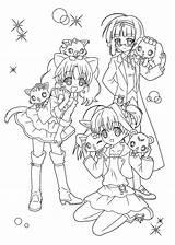 Coloring Anime Pages Printable Manga Sheets Kawaii Cute Print Drawing Jewelpet 4kids Colouring Drawings Cartoon Nerd Chibi Animal Colour раскраски sketch template