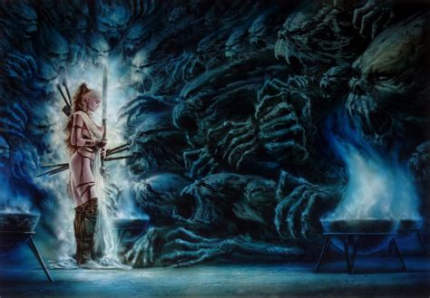 Luis Royo - Howls of Silence, in Roland .'s Luis Royo