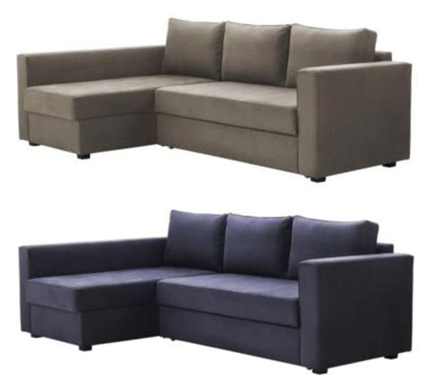 Manstad Sofa Bed Dimensions by Manstad Sectional Sofa Bed Storage From Ikea Apartment