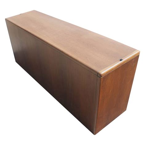 Steelcase Credenza - 6ft vintage steelcase walnut credenza file cabinet ebay