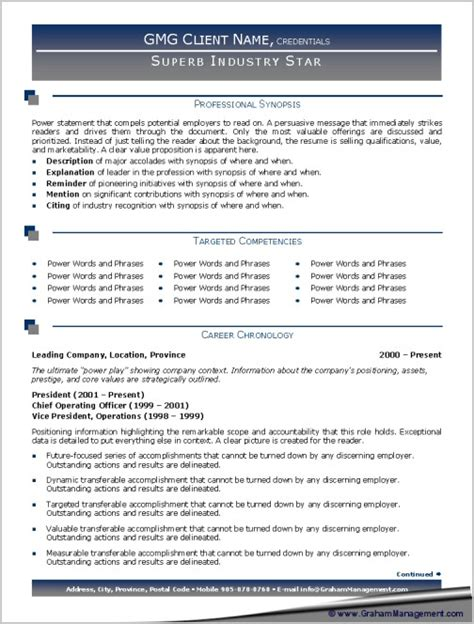 branded professional resume sle graham