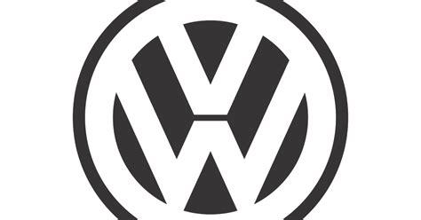 volkswagen logo vector volkswagen black white mode logo vector format cdr ai
