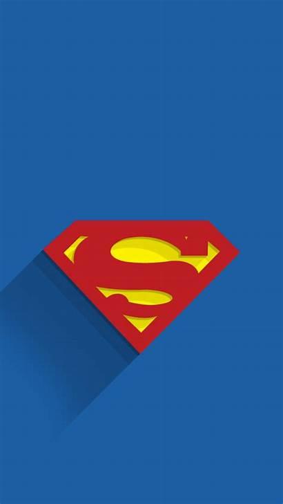 Superman Wallpapers Iphone Superhero Background Minimal Mobile