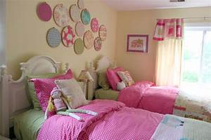 decorating girls shared toddler bedroom the cottage mama With girl room decor ideas pictures