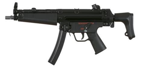 heckler koch mpa mm submachine gun  retractable stock