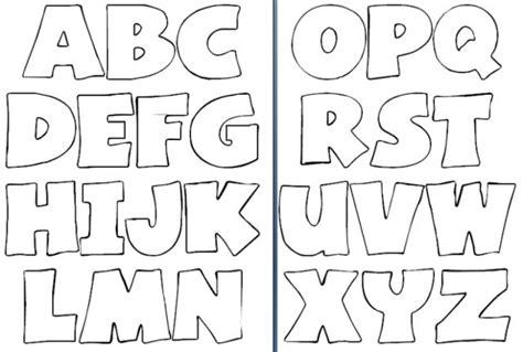 moldes letras abecedario grandes para imprimir mac fonts alphabet letters and