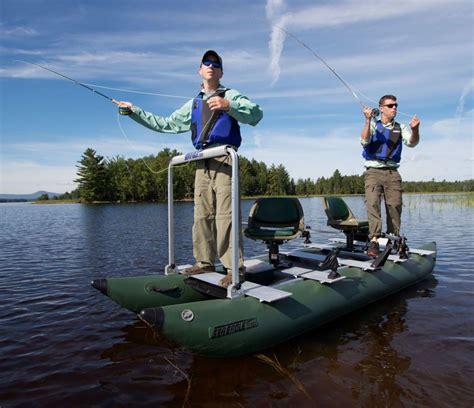 Custom Inflatable Fishing Boat by Sea Eagle 375fc 2 Person Inflatable Fishing Boats Package