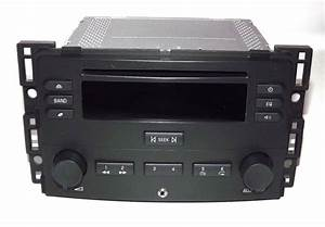Chevy Cobalt  U0026 Pursuit 2005 2006 Am Fm Cd Player W Aux