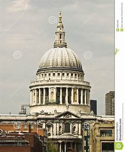The Dome St Paul's Cathedral In London Stock Image - Image ...