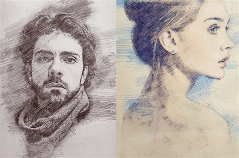 photo  pencil drawing effect actions  photoshop