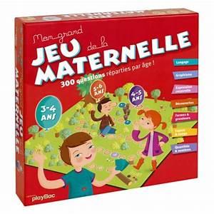 Jeux Enfant 4 Ans : mon grand jeu de la maternelle educabul cr ation oxybul ~ Dode.kayakingforconservation.com Idées de Décoration