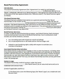 Sample Business Partnership Contract Free 9 Partnership Agreement Contract Samples In Ms Word