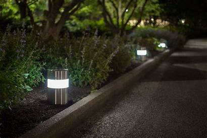 Pathway Bollard Bollards Column Lighting Forms Surfaces