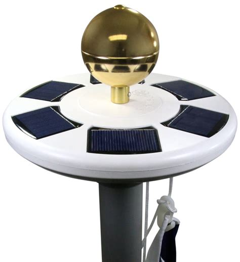 solar flagpole light best solar flagpole lights ledwatcher